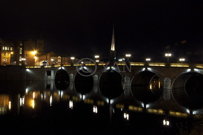 Worcester Bridge at Night