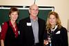 Marsha Adler, former DAASV board member Bill Adler '68, and Cameron Bilger '80 P'11 P'13.