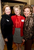 DAASV Event Committee Chairperson Janet Kluczynski '77, US Trust Senior Vice-President Dianne Barkley, Claudia Brown.