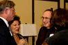 DAASV President, James von Rittmann '95, Claudia Brown, and Bob Molinari '74 T'79.