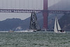 This incredibly fast sailing hydroplane ripping across the Golden Gate gave a taste of what was to come.<br /> <br /> (C) George Hamma 2012
