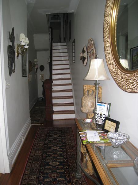 B&B entranceway