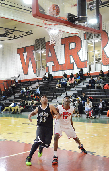 DCPS Boys BBall Wilson v Woodson