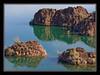 Islands in Lake Havasu, Arizona....