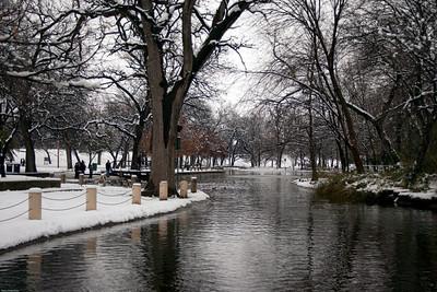 Trinity park duck pond