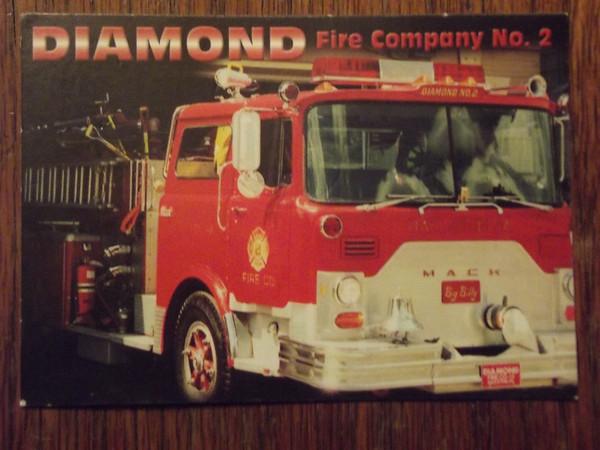 DIAMOND #2 trading card 2001