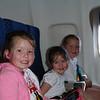 Plane ride.
