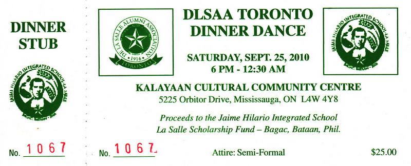 DLSAA Toronto Dinner Dance