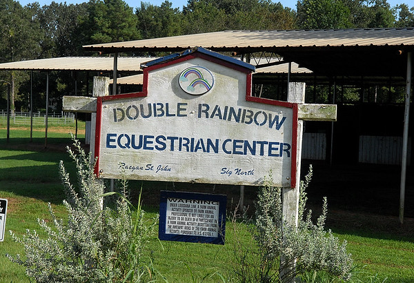 DOUBLE RAINBOW HUNTER-JUMPER SHOW 8-21-09