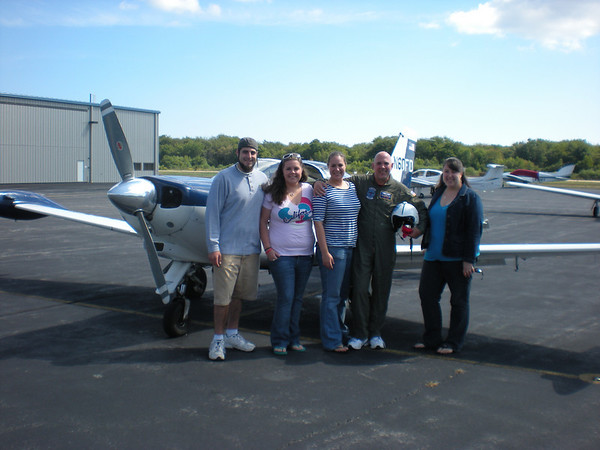 Dad Flies for his 50th