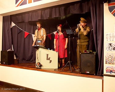 Timescape singing 1940s songs from both sides of the Atlantic