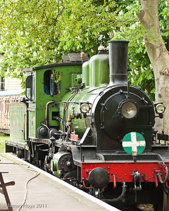 Footplate rides were available on King Haakon
