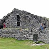 Dun Carloway broch, Lewis, when mum and me were on holiday