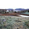Frosty morning at holiday home on North side of Luskentyre