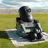 One of the Mortar canons at Fort george