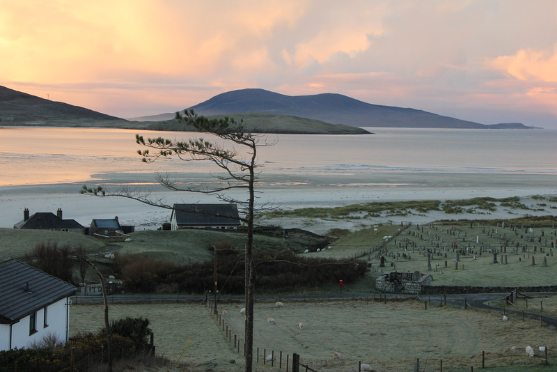 Looking over Luskentyre beach