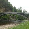 Telfer bridge over River Spey, Craigellachie