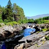 River Orchy, it was a beautiful  day out with Cathleen