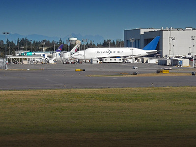 Paine Field in Everett, near the Boeing plant where Andy works