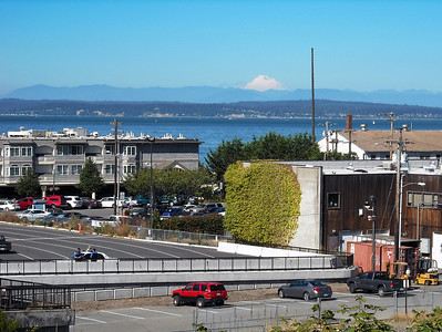 Mukilteo with Mt. Baker in the background