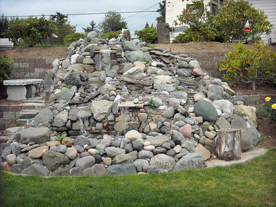 The stone fountain project