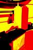 mustard ketchup abstract