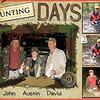 "Some guys from our church took Austin hunting this weekend.  His first Hunt...5 shots...1 Buck..2 Doe..lots of venison for this winter...Lisa got the pics from John and within 20 minutes had this page done. She picked a 12x12 scrapbook page but it can easily be moved to a book, canvas, or anything else.<br /> <br /> Great Company to look into for your family and for your business.<br /> <br /> Check out their pricing for cards and compare it to the labs that SM uses..no contest!<br /> <br /> AND you have complete customization..you can put your picture and text anywhere on the card.  You are not limited..Don't have the time to create custom cards..Check out the over 9,000 templates (which are all completely changable).<br /> <br /> Sell your lower end customers on this company and build residual income..Check out the website and look at their Income Opportunities..look at the very bottom..<br /> <br />  <a href=""http://WWW.YOURSTORYBOOKS.COM"">http://WWW.YOURSTORYBOOKS.COM</a>"