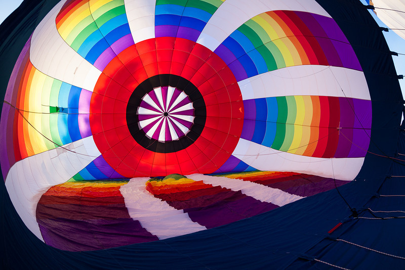 18FEB2013<br /> <br /> Colorful Canopy<br /> <br /> Another shot from Hudson Hot Air Affair in Hudson Wisconsin<br /> <br /> Make it a great week.