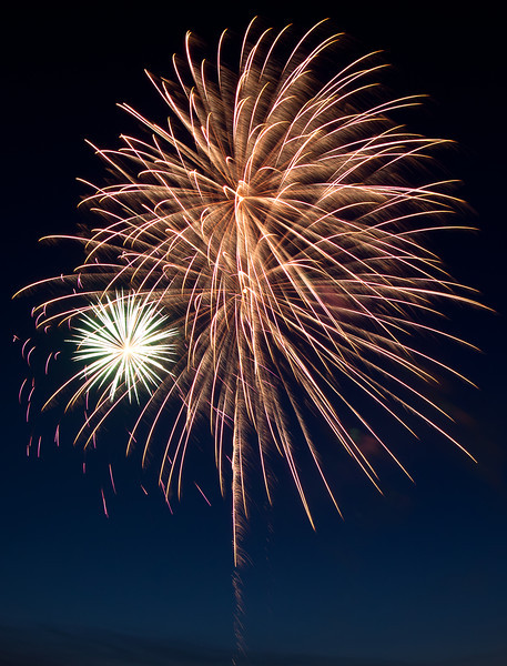 25AUG2012<br /> <br /> Happy Fourth<br /> <br /> Fireworks from the show in Ralston.