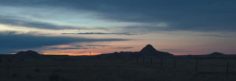 21JUNE2012<br /> <br /> Sunset on the Plains....<br /> <br /> Toadstool Geologic Park in western Nebraska.