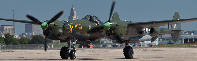 This is one of the only flying P-38's I have seen in a while, my favorite plane, fast and agile....the plane I would have flown in that era. Have a few more of this upcoming.....enjoy.