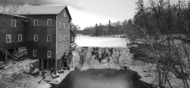 """06FEB2013<br /> <br /> Milling Around<br /> <br /> While in Wisconsin we went by Dells mill again for a Winter Image, enjoy the cold it's two degrees out for this one.<br /> <br /> Thanks for the wonderful comments on the Image i call """"Colorful Cold"""" this image was taken about a hundred miles east .<br /> <br /> Please leave me a comment let me know how it looks, thanks!"""
