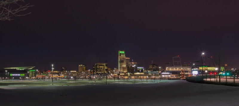 30DEC2012<br /> <br /> Omaha Lights<br /> <br /> Not much of a sunset tonight but its a new spot to shoot from.<br /> <br /> Happy New Year....drive safe!