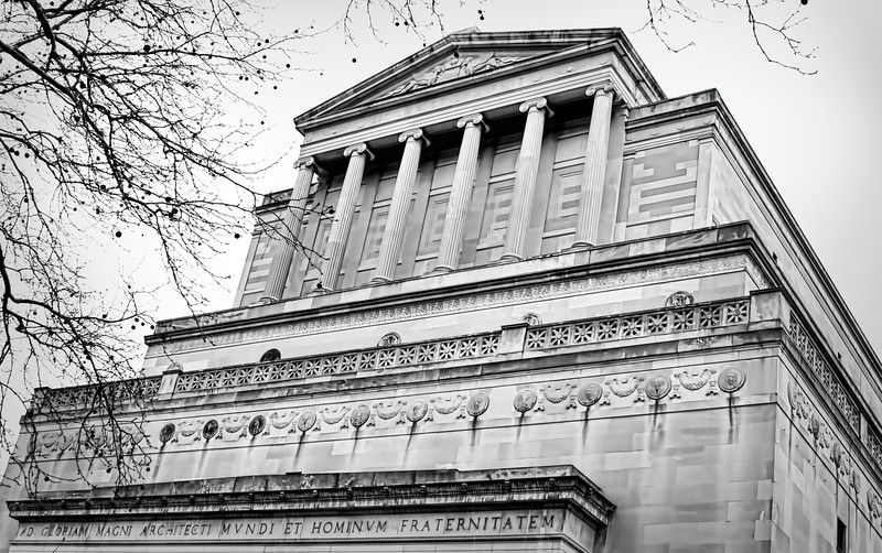 This building in on the Wash U campus in St. Louis. I have no idea what it is but it looks very official, kind of like a government building to me. I made this photo and decided the wind was too chilly to be wandering around outside today. 3.18.13