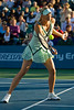 31 July 2009:  Maria Sharapova (RUS) during her 2-6, 2-6 loss to Venus Williams (USA) in their singles quarter-final match at the Bank of the West Classic in Stanford, CA.