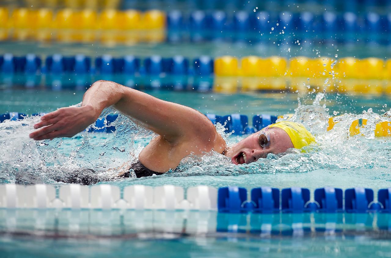 13 June 2009:  Belinda Parslow (AUS) during the morning qualifying 200 meter freestyle session at the USA Swimming Grand Prix Series-Santa Clara International Invitational Swim Meet, Santa Clara, California.