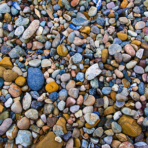 """12/ 23. """"Sea of Pebbles"""" Rock Textures in Point Lobos. This is a nice simple but colorful image of the sea pebbles at Point Lobos - one of my favorite places to shoot. I just updated the image as I was printing some 24x24 canvas giclée images for customers and wanted to share."""
