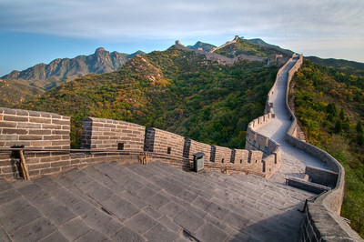11/16 - The Great Wall.  Badaling Section.  For my visit to Beijing, I had a fantastic guide who managed to get me access to the Great Wall BEFORE it opened to the public!   He asked me why I wanted to leave so early?!   Now he knows why!  This is one of the most visited and popular sections of the wall to visit and I am glad I was able to enjoy it with NO ONE THERE!  This is the way a treasure like this is supposed to be enjoyed!