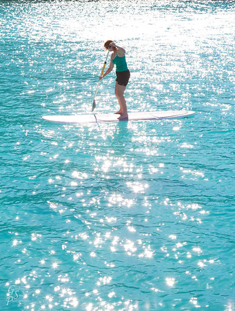 Paddleboard into the Light
