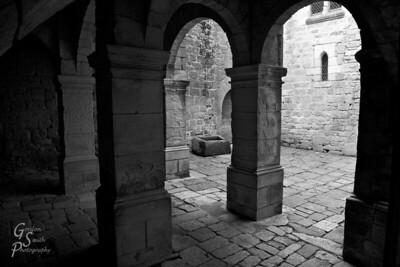 Beynac Columns