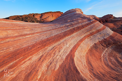 In the Fire Wave of Valley of Fire