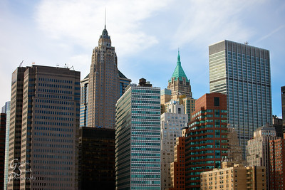 Collection of Buildings from Manhattan