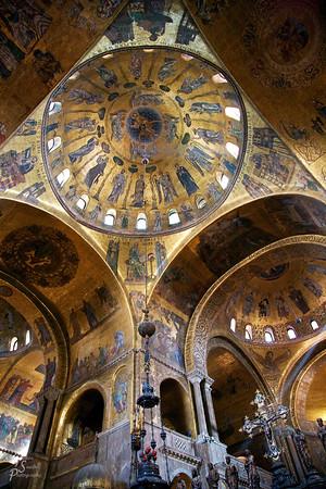 Center Dome of Saint Mark's Basilica