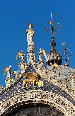 Top of Saint Mark's Basilica