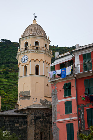 Vernazza Clock Tower