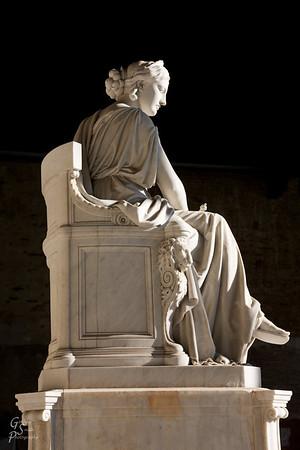 Roman Statue Profile