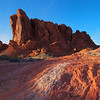 Gibraltar's Last Light<br /> from Valley of Fire State Park in Nevada.