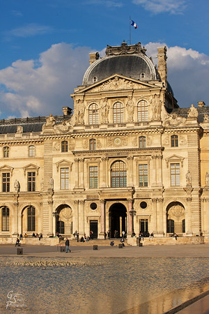 Sully Pavilion of the Louvre