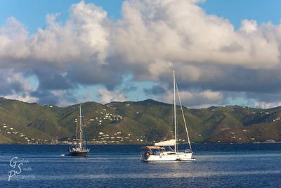 Neighboring Sailboats