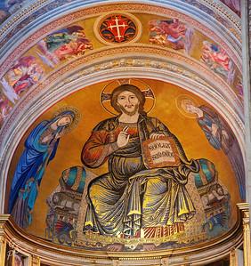 Dome Mosaic of Jesus
